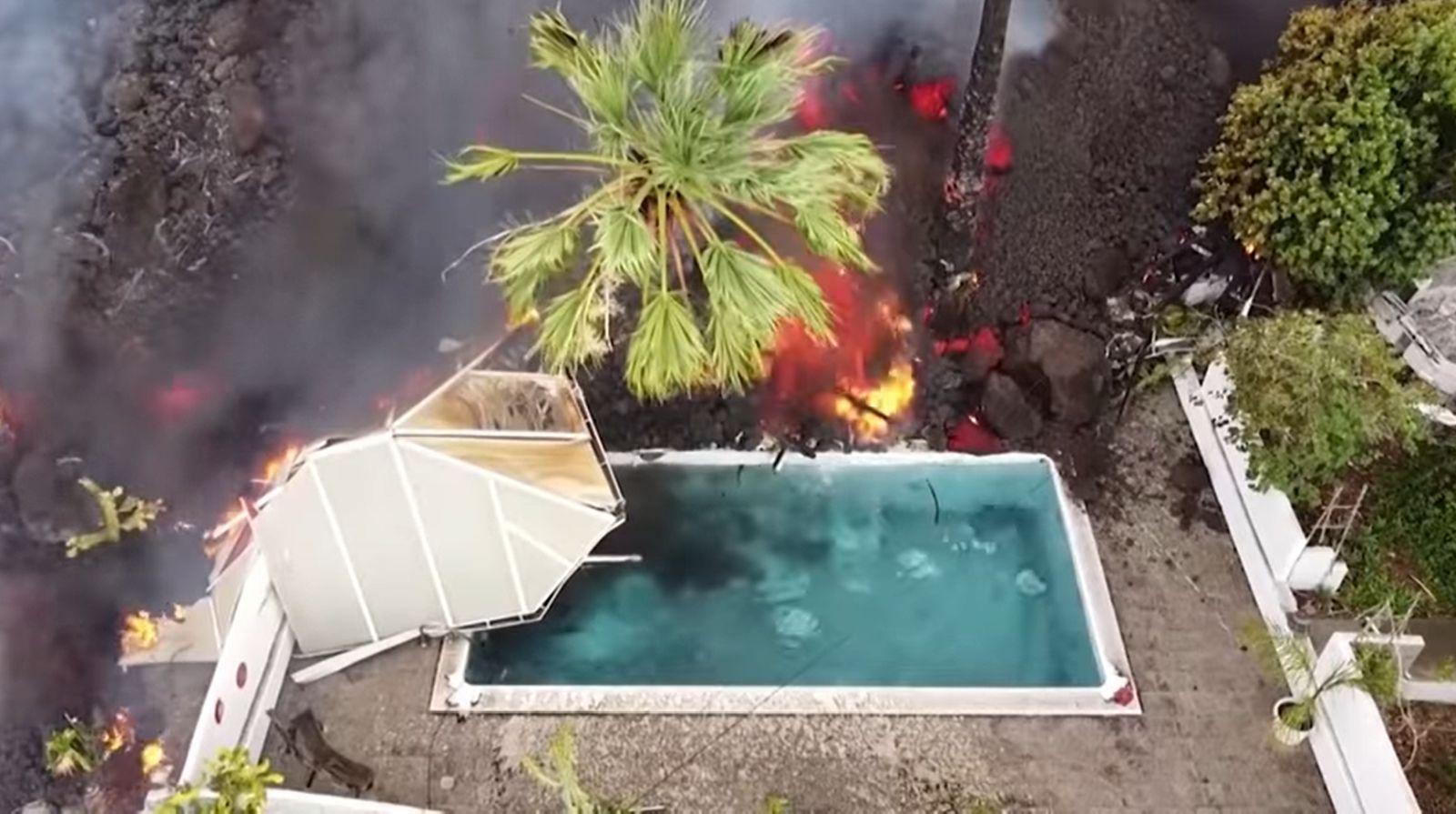 erupția spania la palma